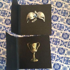 Diadem and cup horcrux pin bundle